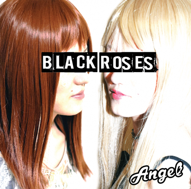 Angel-BLACK ROSES